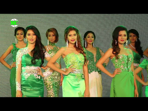 """High School Queen Oramin-F 2014"" Beauty Contest in Yangon"