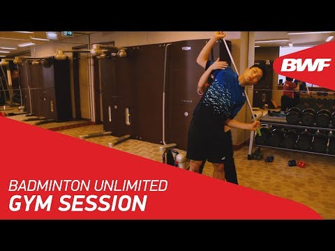 Badminton Unlimited | Gym Session - Chou Tien Chen | BWF 2018
