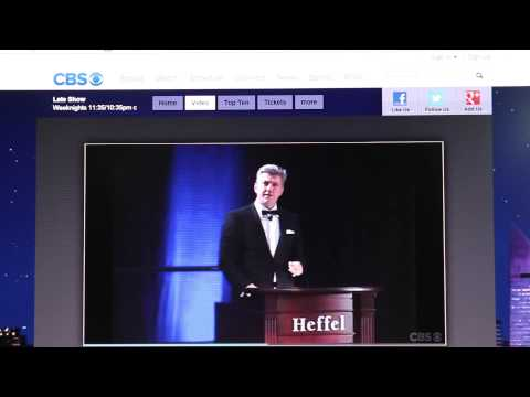 The Late Show with David Letterman ~ Dave Wins an Auction