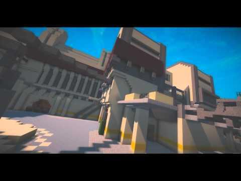 Halo 3 map Last Resort Minecraft Project