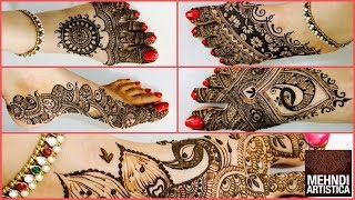 Five Star Henna Mehndi Designs For Karwa Chauth | Mind Blowing Dulhan Shagun Henna Mehendi