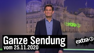 Extra 3 vom 25.11.2020 mit Christian Ehring | extra 3 | NDR