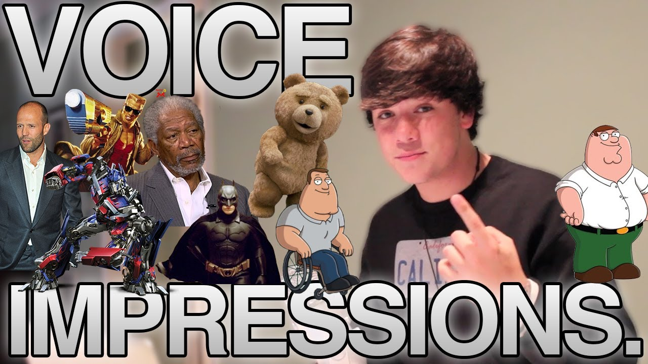 JAKE FOUSHEE DOES VOICE IMPRESSIONS - YouTube