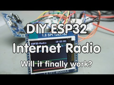 #195 DIY Internet Radio using an ESP32 (Arduino IDE)