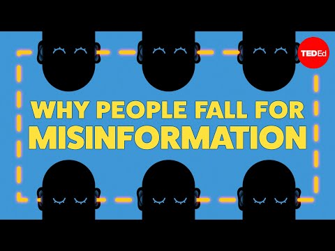 Video image: Why people fall for misinformation - Joseph Isaac
