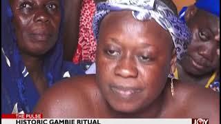 Historic Gambie Ritual - The Pulse on JoyNews (23-1-19)