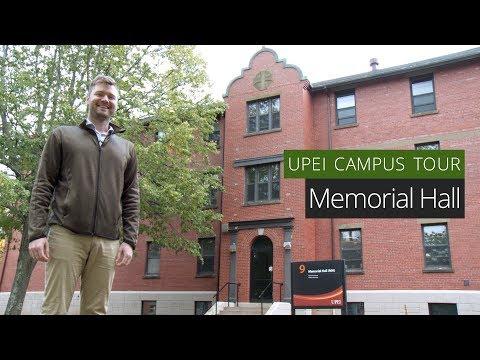 Memorial Hall - UPEI Campus Tour
