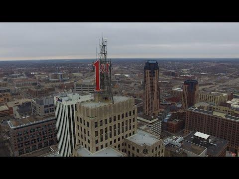 Downtown Saint Paul Aerial Drone Footage - DJI Phantom 3