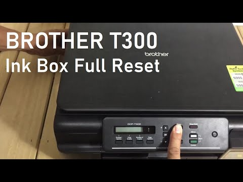 TEKNIQUE Brother T300 Ink Box Full Reset