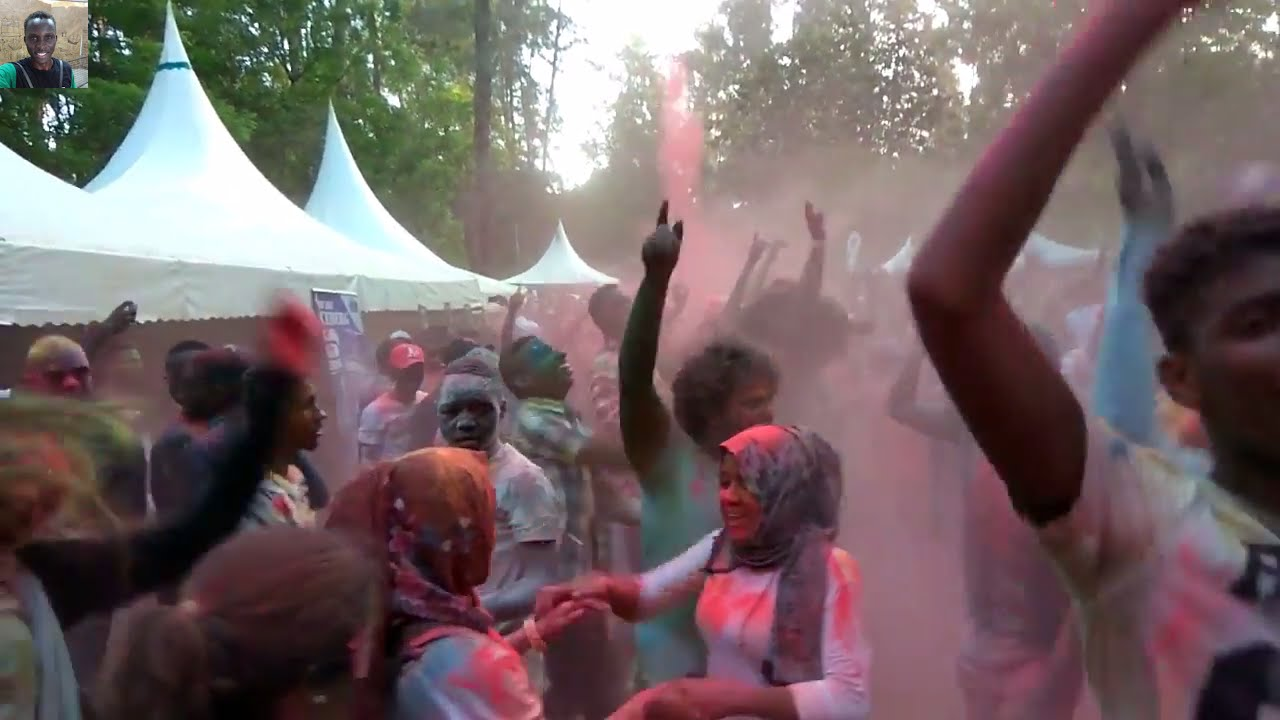 MOMBASA COLOR FESTIVAL 2016 AFTERMOVIE  | HEAT OF THE MOMENT | TYPICAL KENYAN VLOGS