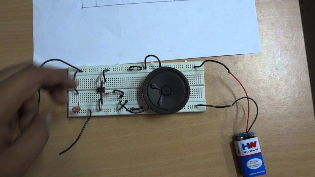 Four Tone Siren Youtube Police Using Ic 555 Circuit Schematic Diagram