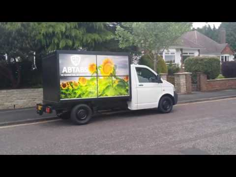HD advertising van
