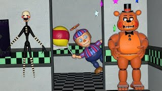 GUESS WHO BALLOON BOY WILL FIND FIRST? (Gmod FNAF Sandbox Funny Moments)(Garry's Mod)