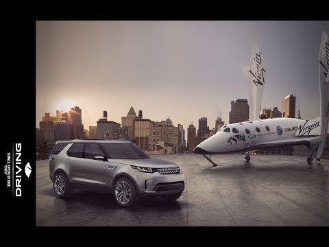 Land Rover and Virgin Galactic launch film