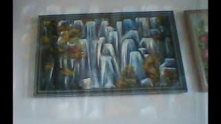 Энергетическая живопись. Духи воды.  Волшебные водопады