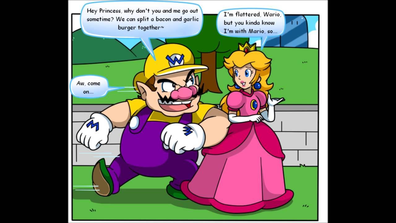 Super mario princess daisy bounces on guy039s cock - 2 4