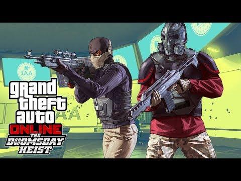 GTA V HEIST DO JUIZO FINAL #4 - ROUBANDO OS CHIPS