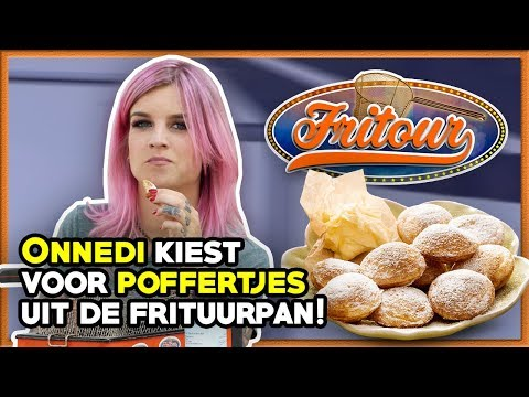 POFFERTJES in de FRITUUR! (ft. ONNEDI) ★ FRITOUR #9