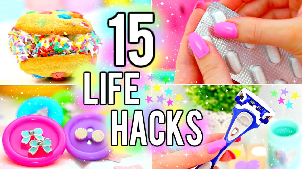 15 life hacks you need to know youtube ccuart Image collections
