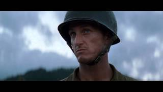 Sean Penn - The Thin Red Line - Sergeant Welsh scene: Everything a lie.