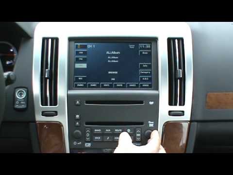 Ipod Operation In A 2009 Cadillac Sts Youtube
