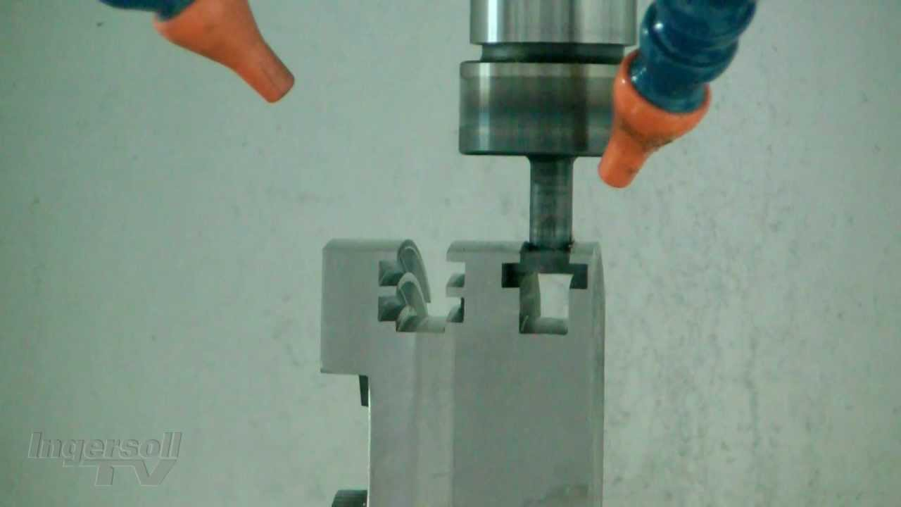 Chip-Surfer T-Slot (4th Axis) - 4140 Steel