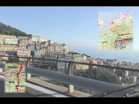 Liechtenstein To Genoa - Different Climates