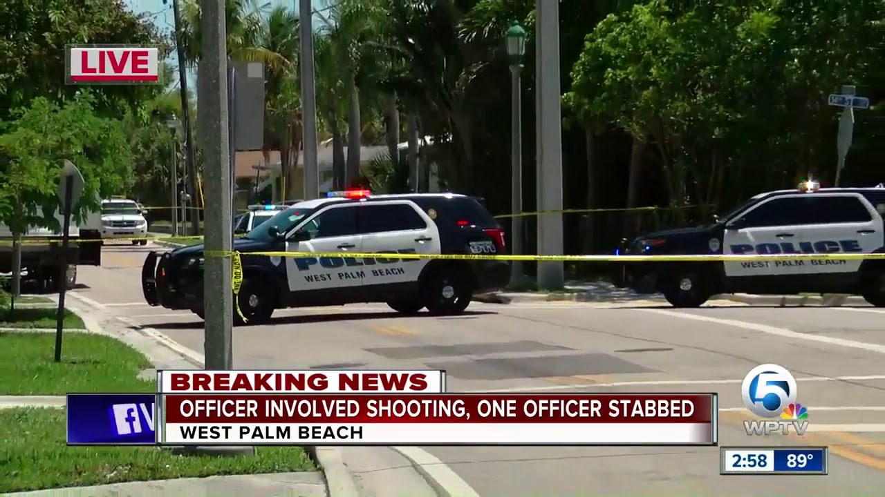 Florida Police Officer Stabbed, Suspect Shot