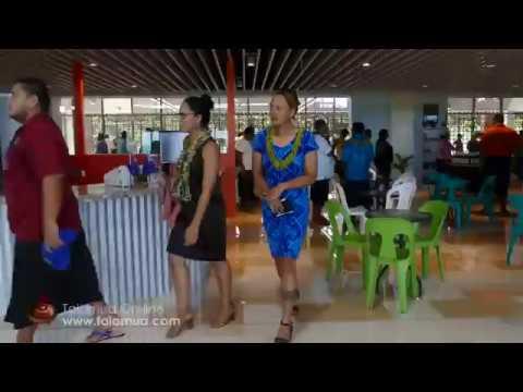 Samoa opens million dollar airport departure lounge