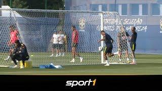 Mega-Tor! Spielkind Neymar zaubert | SPORT1