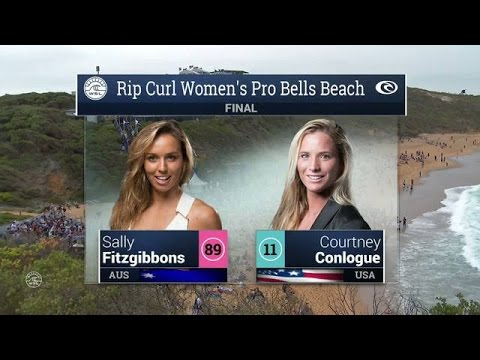 2016 Rip Curl Women's Pro Bells Beach: Final Video