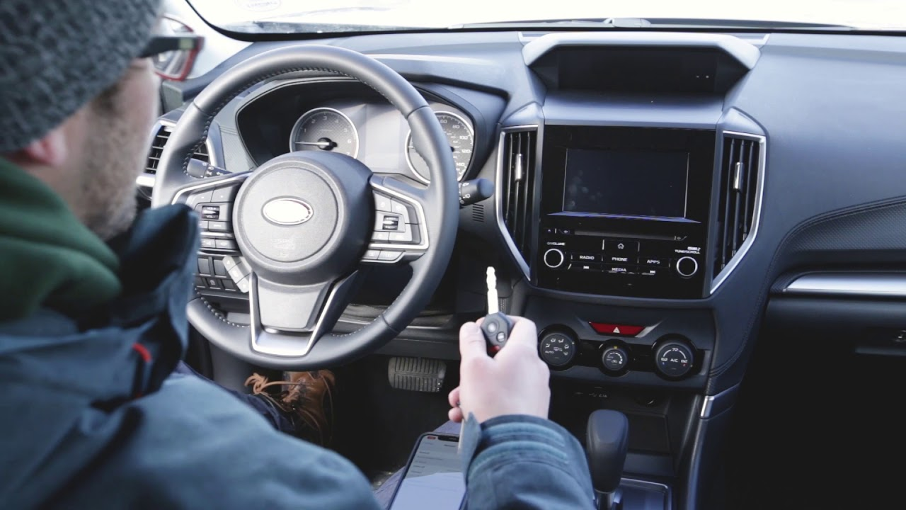 How To: Pair a Phone to Bluetooth in a 2019 Subaru Forester