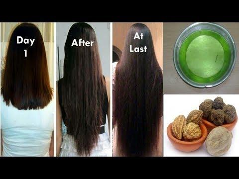 Homemade Triphala Hair Oil for Double Hair Growth - Aloevera Gel to get Long hair, No Hair Fall