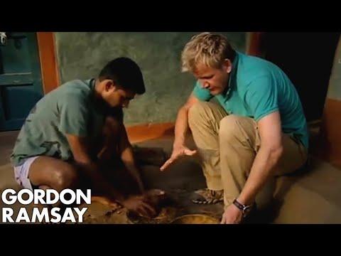 Gordon Ramsay Makes and Eats Ant Chutney