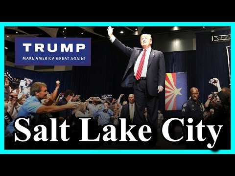 LIVE Donald Trump Salt Lake City Utah Rally at Infinity Cent