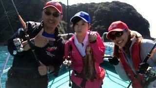 今回はペルビー貴子とゲストの松田莉奈ちゃんがボートからのエギングに...