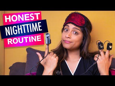 Night Time Routine w/ Lie Detector