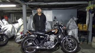 ヤマハSR400クラッシックスタイルフルカスタム車:参考動画