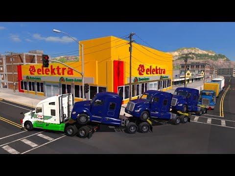 Transportando Camiones Kenworth | De Mexicali a Puerto Peñasco, Sonora, México