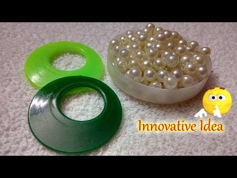 DIY | How To Make Beautiful Silk Thread Tassel Earrings At Home | Jewelry Making | DiyArtiePie