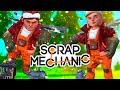 ОПАСНЫЙ DEATHRUN - Scrap Mechanic! (Угар,Эпик,Баги) #1