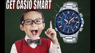 The CASIO SMART WATCH: EQB Series