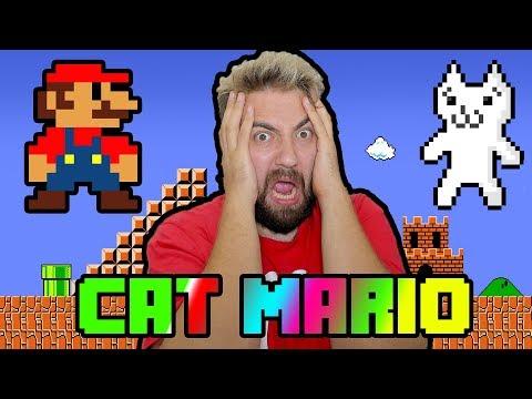 Sinirden Çıldırtan Oyun   Cat Mario 😡