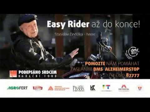 Stanislav Zindulka pro nadační fond Podepsáno Srdcem - ALZHEIMER STOP