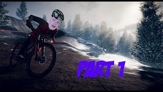 GOING 200 KM/H!! -  Descenders (MOUNTAIN BIKE GAME) - Part 1