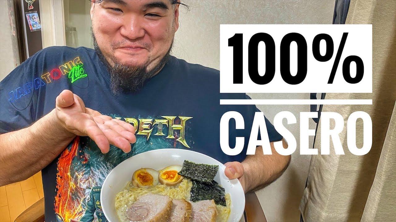 🍜 RECETA completa del mejor RAMEN Tonkotsu!