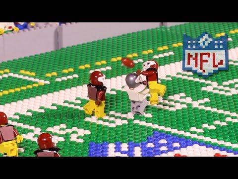 NFL: Oakland Raiders @ Washington Redskins (Week 3, 2017) | Lego Game Highlights