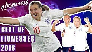 Duggan's Delightful Duo and Stanway's Debut Stunner! | Best Lionesses Goals 2018 | England