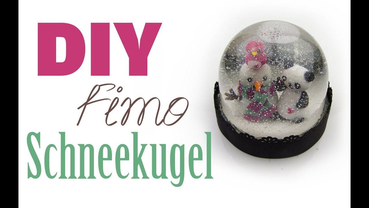 fimo schneekugel diy geschenk ideen 05 weihnachts serie 2014 youtube. Black Bedroom Furniture Sets. Home Design Ideas