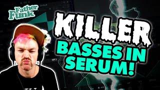 My tips & tricks for KILLER basses in SERUM! [Xfer Serum Tutorial]